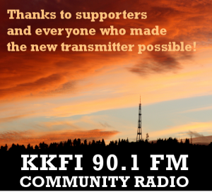 A New Dawn in Community Radio: KKFI 90.1 FM Replaces Its' 23-Year Old Transmitter