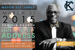 2015 State of the City Address - Mayor Sly James - Kansas City, MO @ 90.1FM On Air