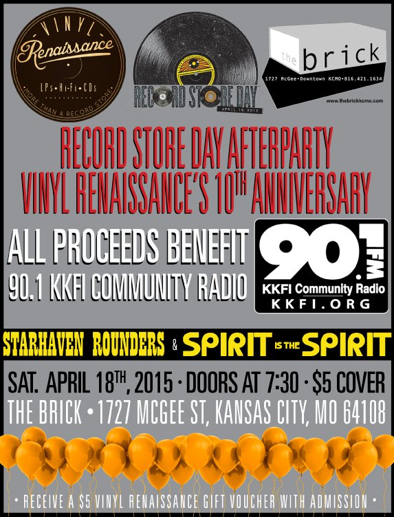 90.1FM Record Store Day Party @ The Brick | Kansas City | Missouri | United States