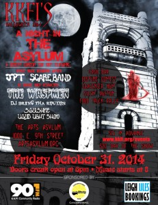 90.1FM Presents: A Night in the Asylum - Halloween 2014 @ The Arts Asylum | Kansas City | Missouri | United States
