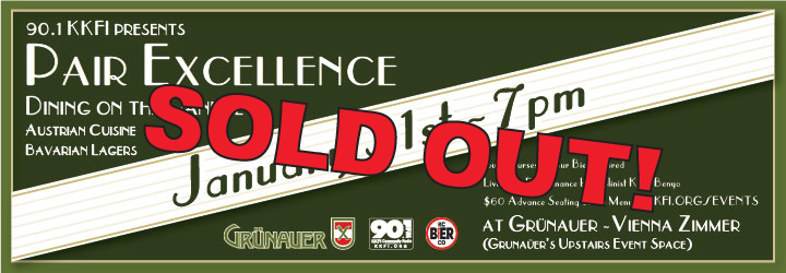 !!! SOLD OUT !!! Pair Excellence: Dining on the Danube ~ Bavarian Lagers and Austrian Cuisine @ Grunauer - Vienna Zimmer | Kansas City | Missouri | United States