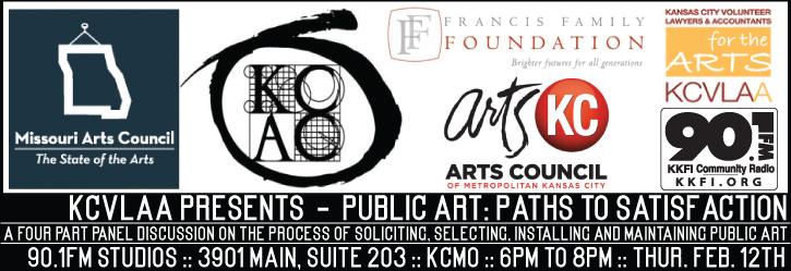 90.1FM and KCVLAA Present - Public Art: Paths to Satisfaction