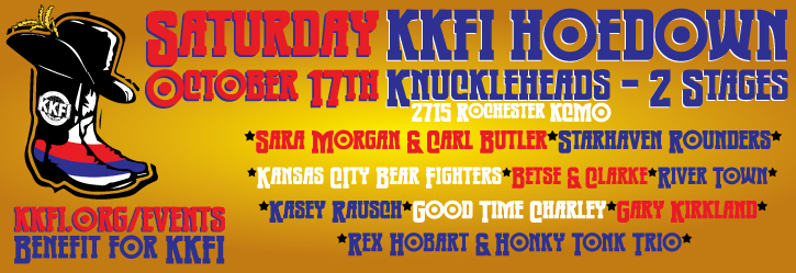 KKFI Hoedown - 1st Annual @ Knuckleheads Saloon | Kansas City | Missouri | United States