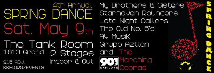 90.1FM Spring Dance 2015 @ The Tank Room | Kansas City | Missouri | United States