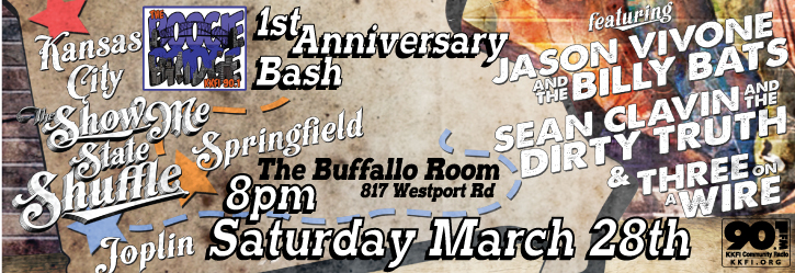 Boogie Bridge 1st Birthday Bash! @ The Buffalo Room | Easton | Connecticut | United States