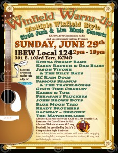 Winfield Warm-up: Multiple Winfield Style Jam Sessions PLUS 14 Live Bands @ IBEW Local 124 | Kansas City | Missouri | United States