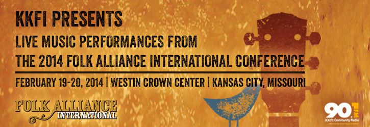Live Music Performances at the 2014 Folk Alliance International Conference