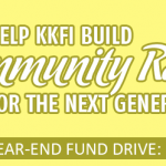 Looking to make a tax-deductible donation for 2012? Think KKFI, your non-profit community radio station.