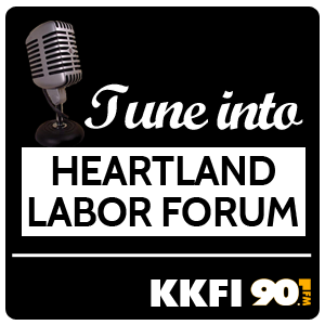 logo for the Heartland Labor Forum show