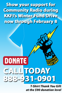 "Get ""Local and Vocal"" with KKFI -- Donate through February 8‏"